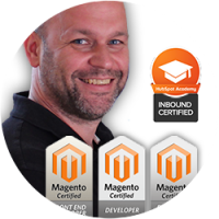zsolt szalay certificated magento developer and hubspot inbound certificate